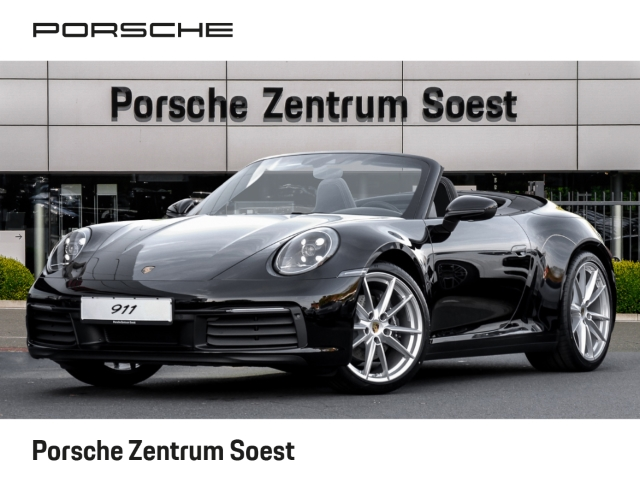 Porsche 992 Carrera Cabriolet /LEDER/LED/SPORTABGAS, Jahr 2019, petrol