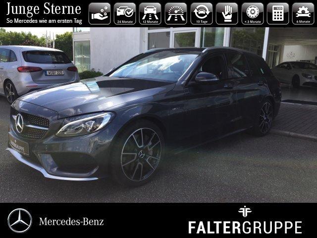 "Mercedes-Benz C 450 AMG T Business+ 19""AMG LED 360°el.Heckklap, Jahr 2016, petrol"