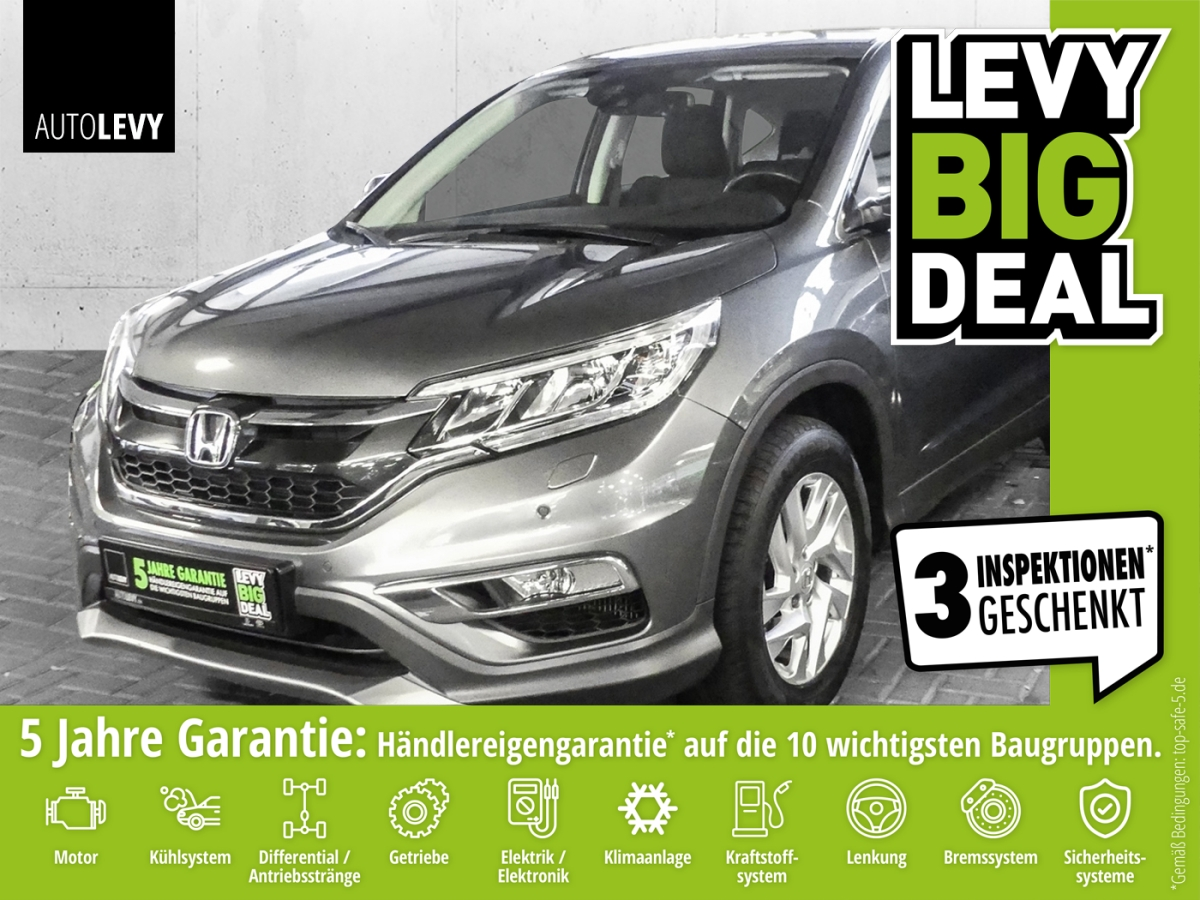 Honda CR-V 1.6i D-Tec Elegance *Navi*Kamera*Sitzheizun, Jahr 2016, Diesel