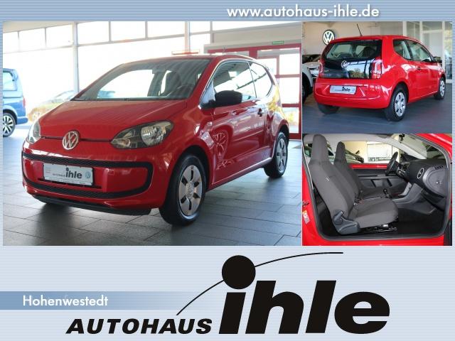 Volkswagen up! 1,0 take up! Tagfahrlicht+Klima+MP3+ZV+AUX, Jahr 2013, Benzin