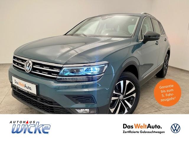 Volkswagen Tiguan 1.5 TSI Comfortline Klima Navi ACC AHK, Jahr 2020, Benzin