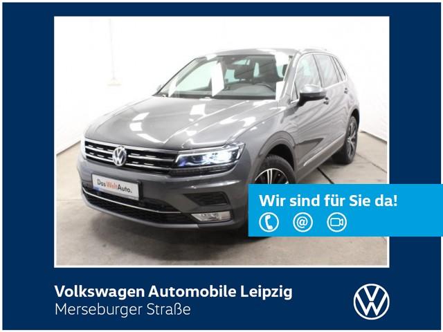 Volkswagen Tiguan 2.0 TSI Highline 4M *ACC*LED*SHZ*AHK*, Jahr 2016, Benzin