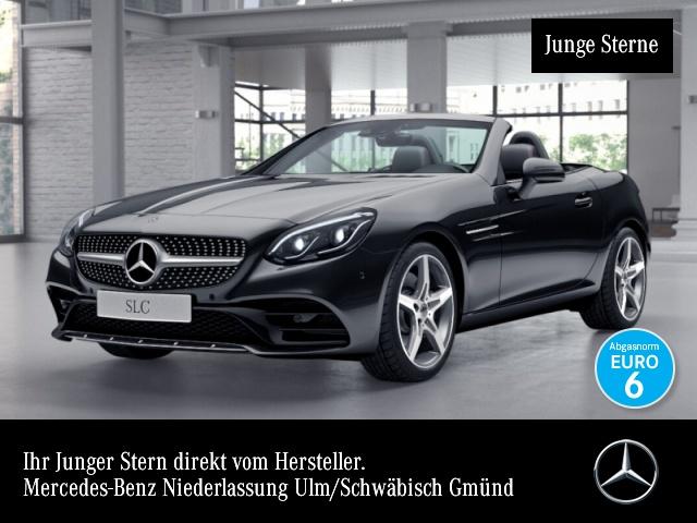 Mercedes-Benz SLC 300 AMG Pano Harman COMAND ILS LED Airscarf 9G, Jahr 2017, Benzin