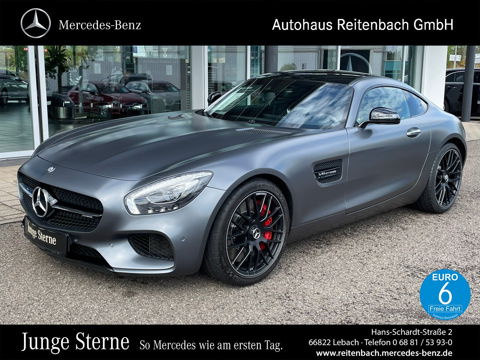 Mercedes-Benz AMG GT S NIGHT+PERFSITZ+PANO PERFABGAS+CARBON, Jahr 2016, Benzin