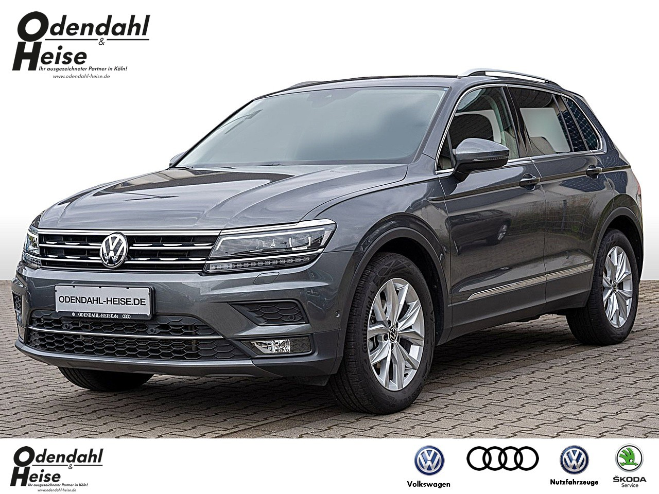 Volkswagen Tiguan 1,5 l TSI DSG Highline Klima Navi, Jahr 2020, Benzin
