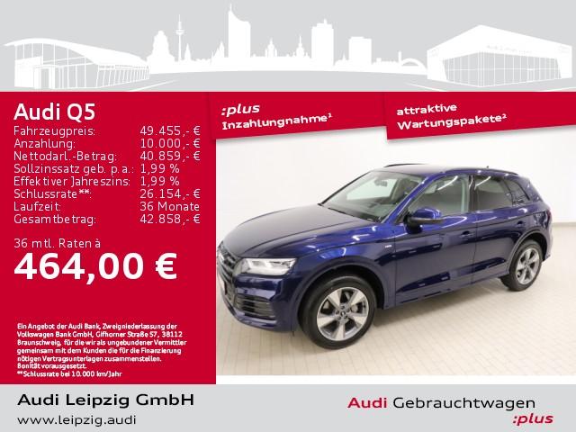 Audi Q5 35 TDI quattro sport *S tronic*Standheizung*, Jahr 2020, Diesel