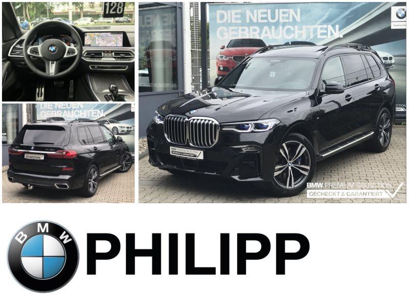 BMW X7 xDrive30d M Sportpaket St-HzLaser AHK h&k Sky, Jahr 2020, Diesel