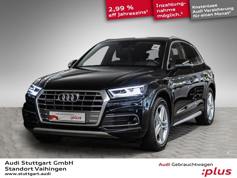 Audi Q5 2.0 TDI quattro S line ACC virtCo PDCplus AHK, Jahr 2017, Diesel