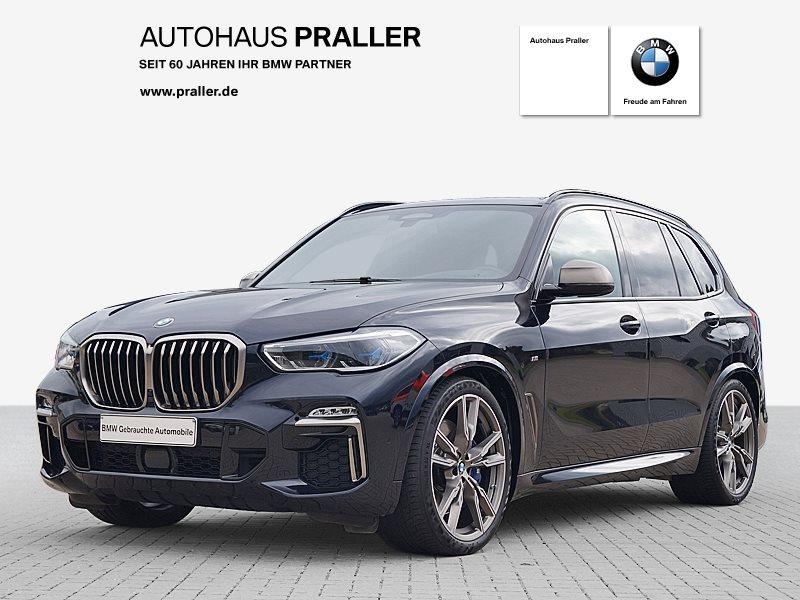 BMW X5 M50d Vollleder Head-Up Harman Kardon HiFi DAB, Jahr 2019, Diesel