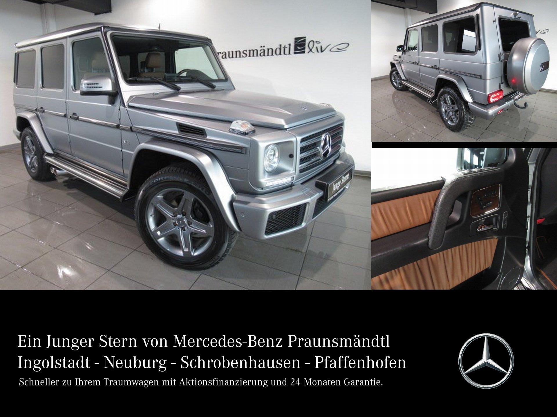 Mercedes-Benz G 500 designo/Sport/Standhz/LM19AMG/Sound/Schieb, Jahr 2016, Benzin