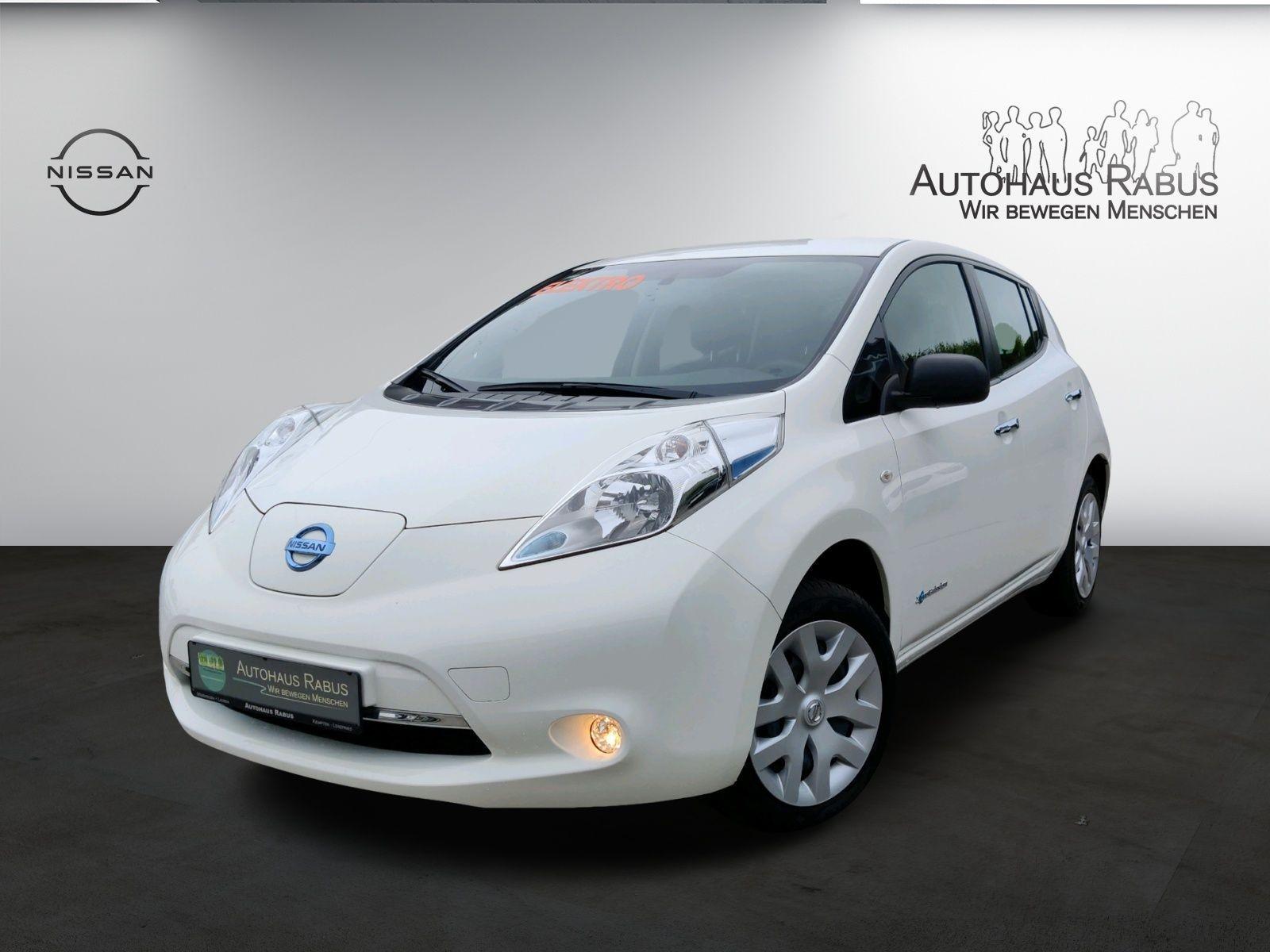 Nissan Leaf Visia 24KW, (inkl Battterie), Klima,Nebel, Jahr 2016, Elektro