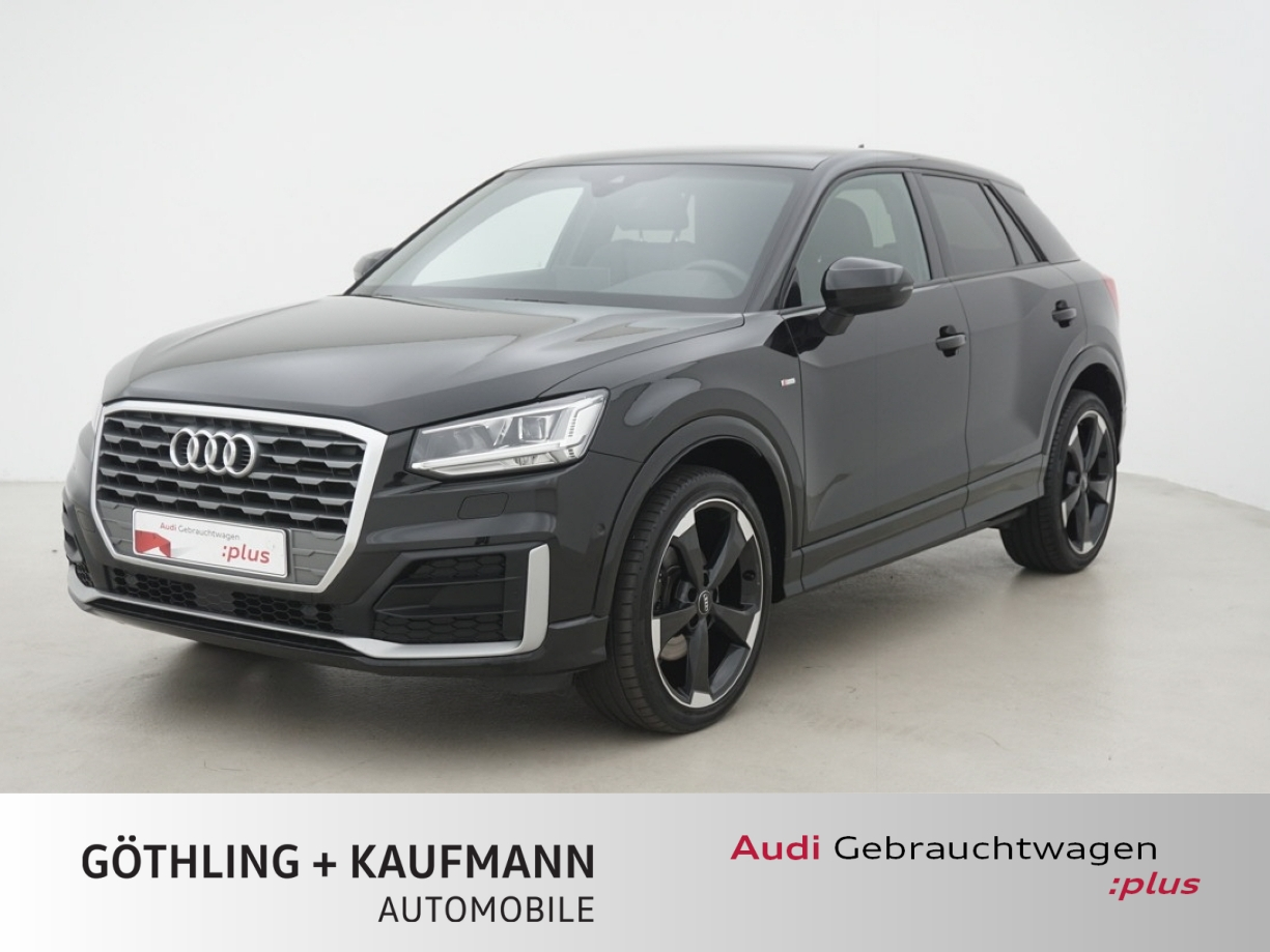 Audi Q2 1.4 TFSI 2x S line S tro. 110kW*ACC*Pano*Kame, Jahr 2017, Benzin