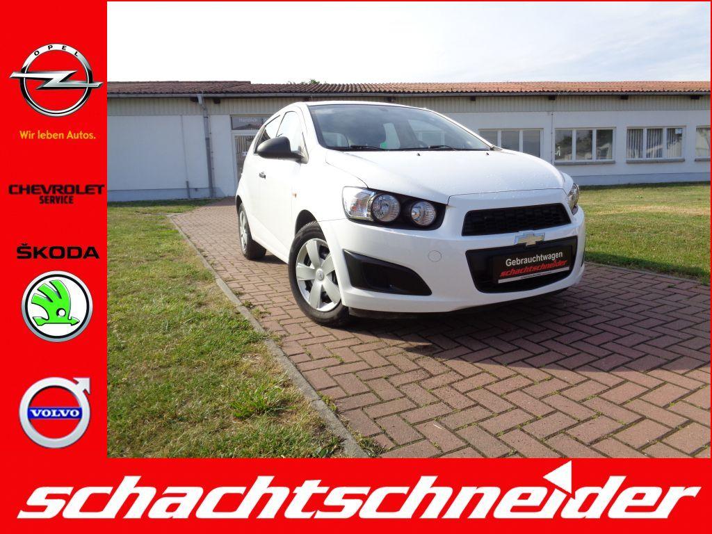 Chevrolet Aveo 1.2 LS+Klima+Radio+ZV+Tempomat+Garantie+, Jahr 2013, Benzin