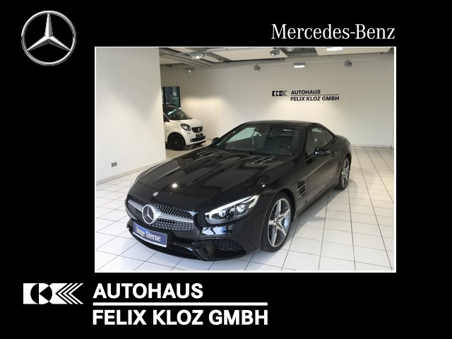 Mercedes-Benz SL 500/ Keyless/Comand/9G-Tronic/LED/AMG-Line, Jahr 2017, Benzin