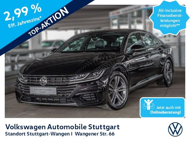 Volkswagen Arteon R-Line 2.0 TDI DSG Navi LED GRA SHZ, Jahr 2018, Diesel