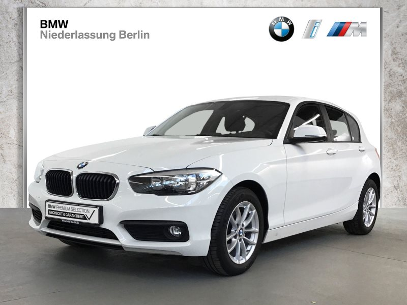 BMW 118i 5-Türer EU6 Aut. Servotronic Sitzheiz. PDC, Jahr 2018, Benzin
