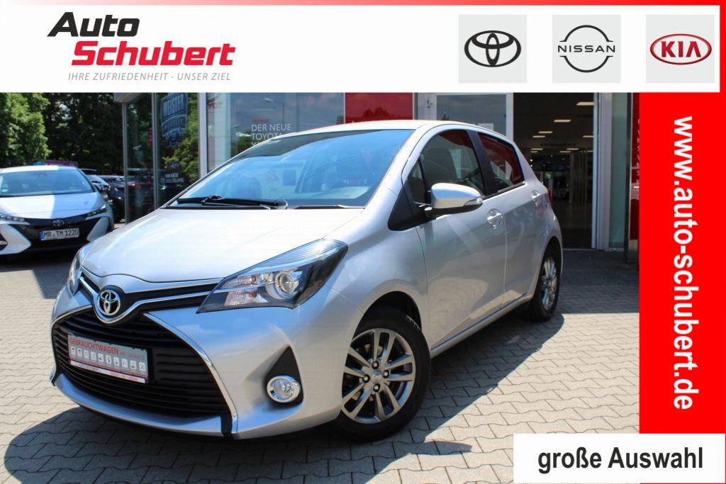 Toyota Yaris 1.33 VVT-i Comfort+Rückfahrkamera+Klima+WIL, Jahr 2014, Benzin