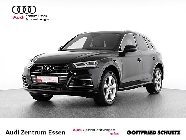 Audi Q5 55 TFSI e quattro S-tronic S Line LED NAV RÜFAHR SHZ PDC VO HI FSE MUF, Jahr 2019, Hybrid