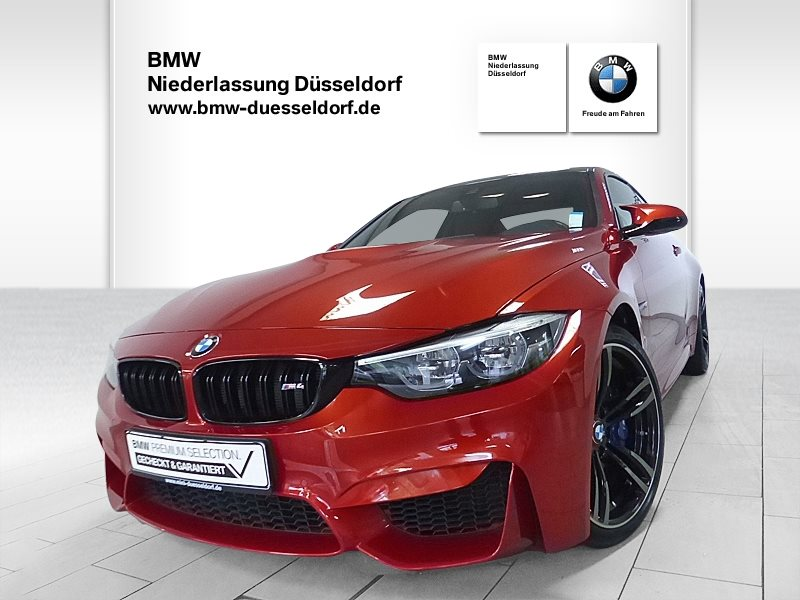 BMW M4 Coupé M Competition Paket, Jahr 2017, Benzin