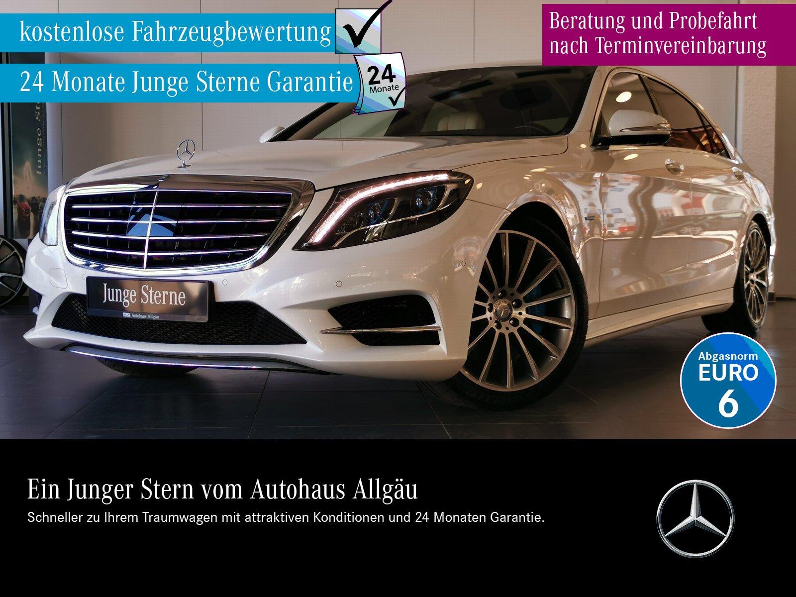 Mercedes-Benz S 500 e Hybrid AMG+ILS+COMAND+360°+DISTRONIC+BUR, Jahr 2016, Benzin