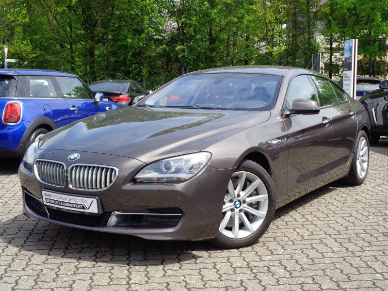 BMW 650i Gran Coupé Euro 6 Navi Prof PDC Klima Sitzheizung Xenon Ambientes Licht Tempomat, Jahr 2015, Benzin