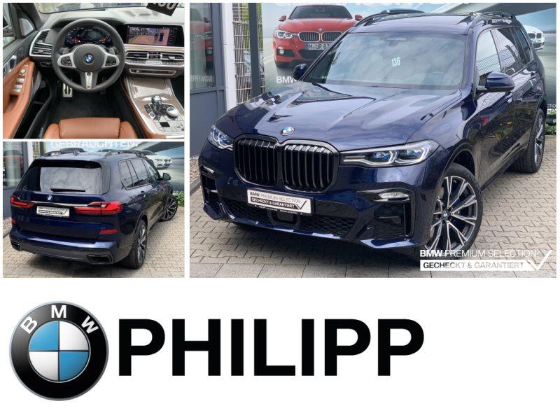 BMW X7 M50i B&W HUD Sky Louge TV+ Laser Ak.Sitzbelüf., Jahr 2020, Benzin