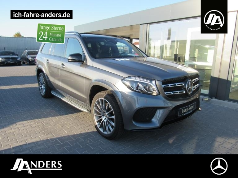 Mercedes-Benz GLS 400 4M AMG Harman+Comand+Distr+Pano+LED+SHZ, Jahr 2018, Benzin