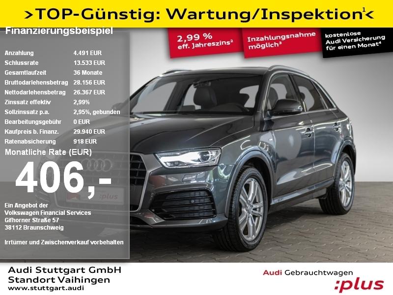 Audi Q3 Sport 1.4 TFSI S line Navi PDC Tempomat, Jahr 2018, Benzin