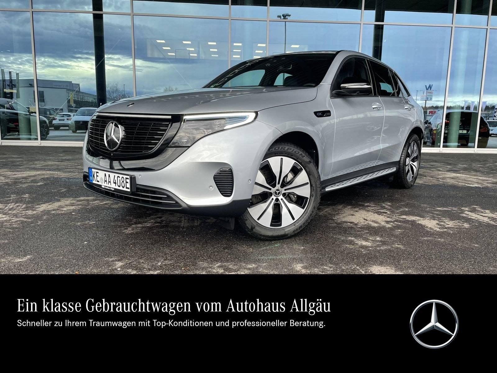 Mercedes-Benz EQC 400 4M+MULTI-LED+BURMESTER+KAMERA+LEDER+SITZ, Jahr 2019, Elektro