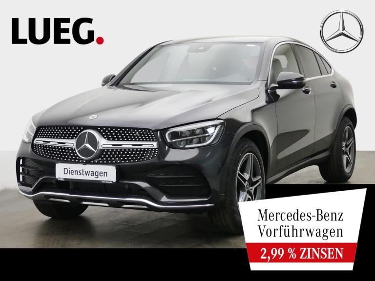 Mercedes-Benz GLC 200 d 4M Coupé AMG+19''+LED+KAM+PTS+DKL.GLA, Jahr 2021, Diesel