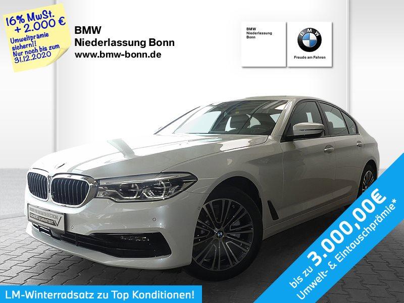 BMW 520d Limousine Sport Line, Jahr 2019, Hybrid_Diesel