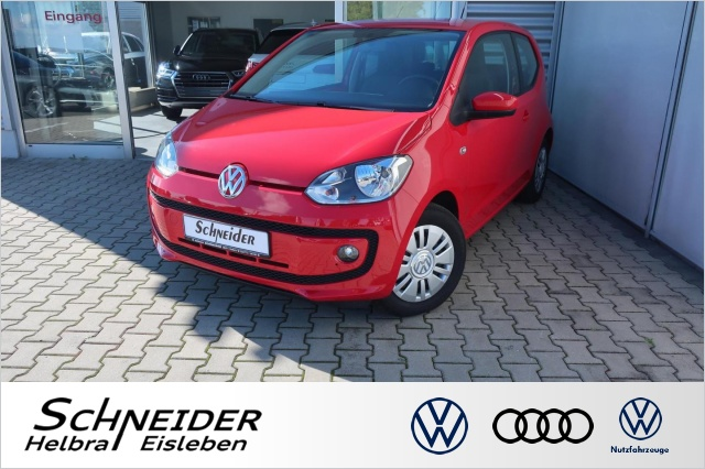 Volkswagen UP! 1.0 MOVE UP! RCD-215+SHZ+NEBEL+EASY-ENTRY, Jahr 2012, Benzin