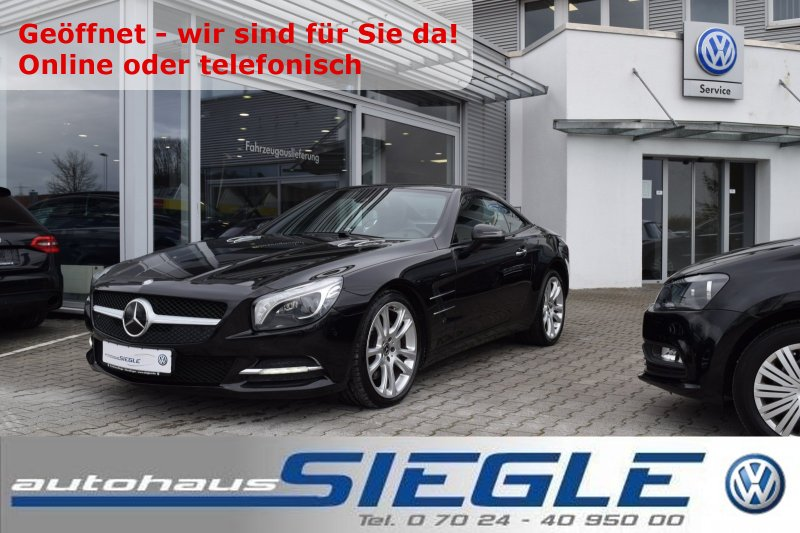 Mercedes-Benz SL 350 Panorama-Dach*Leder Exklusiv*19Zoll*Comand*Airscarf*Fahrdyn.Sitze, Jahr 2012, Benzin