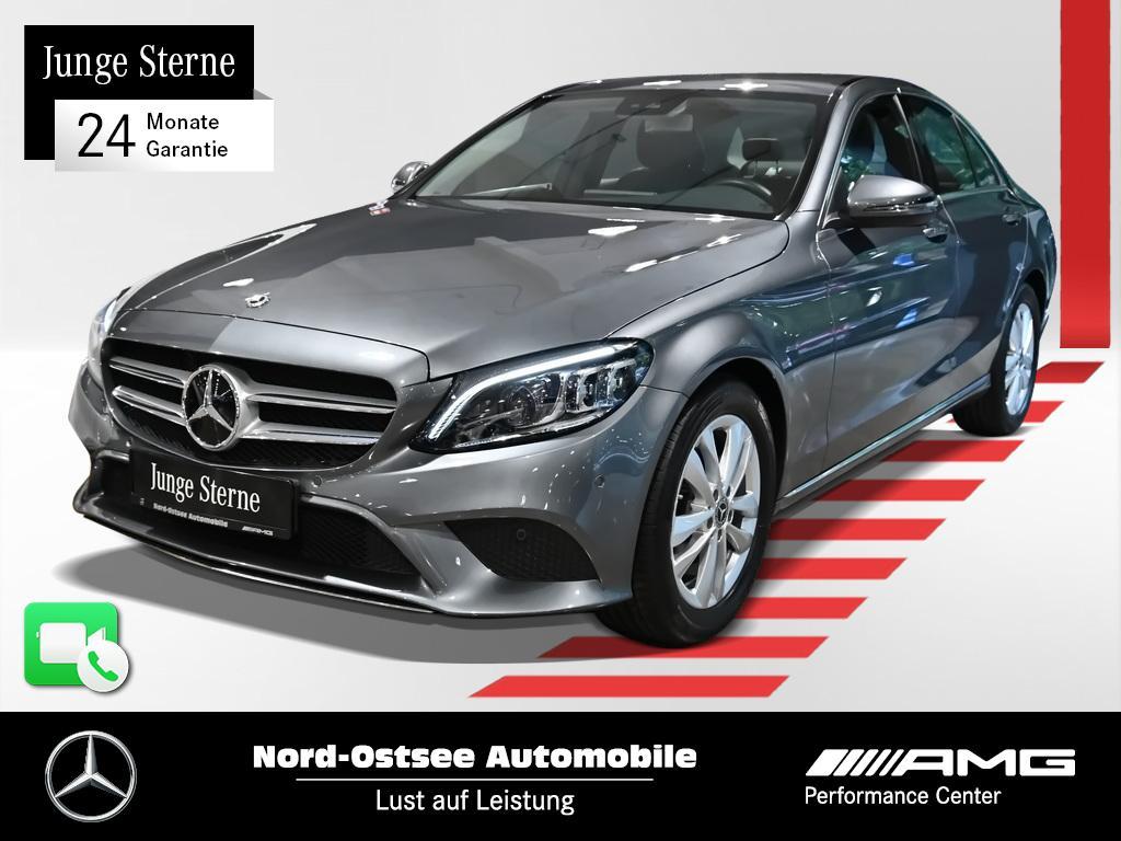 Mercedes-Benz C 180 Avantgarde Navi Multibeam Kamera AHK Totwi, Jahr 2019, Benzin