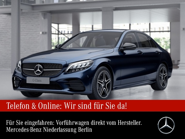 Mercedes-Benz C 180 AMG Distr. LED Night Kamera Spurhalt-Ass PTS, Jahr 2021, Benzin