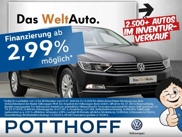 Volkswagen Passat 1.6 TDI BMT Comfortline ACC Navi AHK Tele, Jahr 2015, Diesel