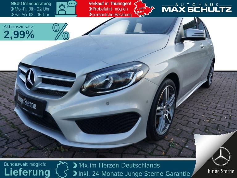 Mercedes-Benz B 220 d STHZG*RFK*LED*PTC*NAVI*SHZ*EASY-VARIO, Jahr 2016, Diesel