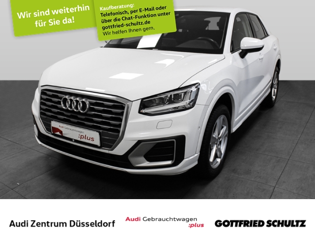 Audi Q2 1.4 TFSI S-tronic Sport, Jahr 2017, Benzin