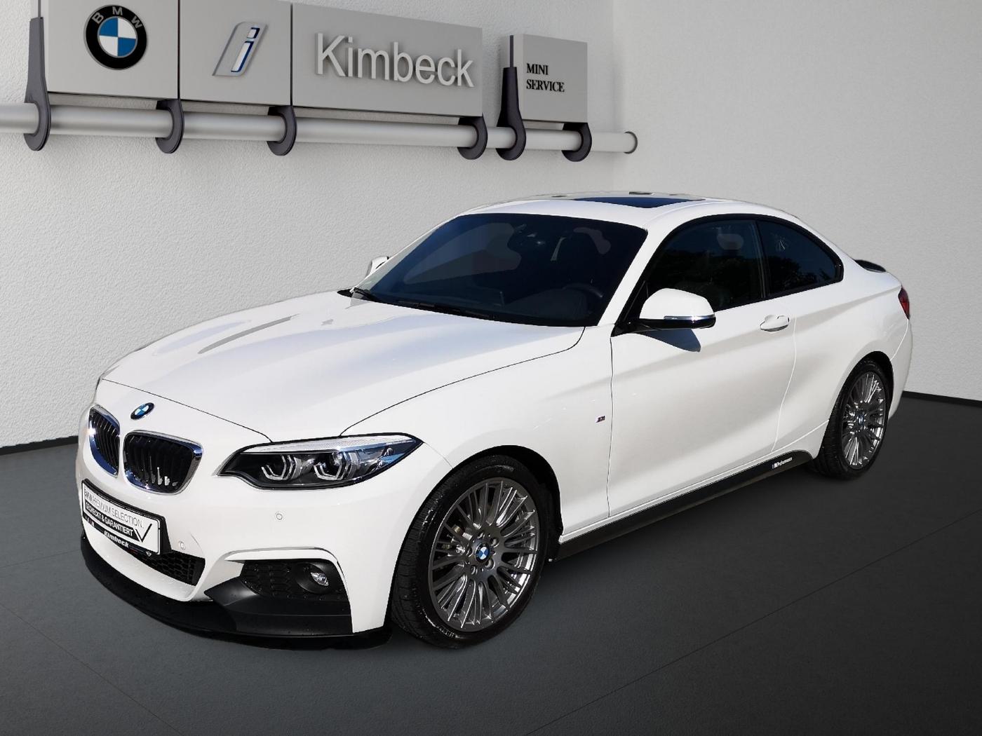 BMW 230i Coupé M SPORT Navi Leder LED PDC Glasdach, Jahr 2017, Benzin