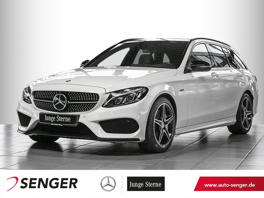 Mercedes-Benz C 450 AMG 4MT*Distronic*Panorama*Head-up*AHK*LED, Jahr 2016, Benzin