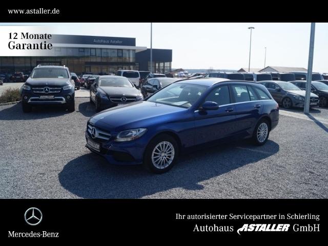 Mercedes-Benz C 180 T d Professional+AHK+Navi+Heckkl.el+16''Al, Jahr 2015, Diesel