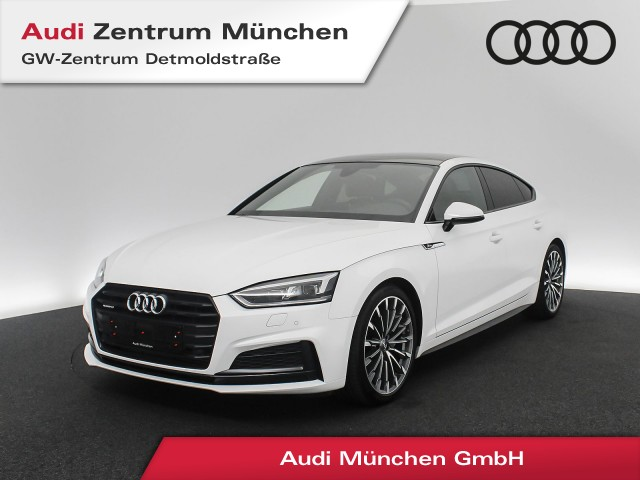 "Audi A5 Sportback 3.0 TDI qu. S line Virtual Pano MatrixLED Assistenz Leder Navi 19"" S tronic, Jahr 2017, diesel"