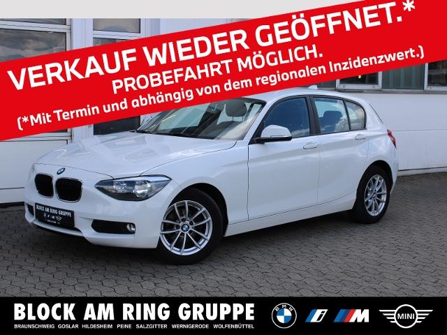 BMW 116i 5-Türer SH PDC LMR, Jahr 2014, Benzin