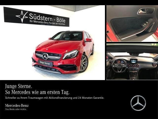 Mercedes-Benz A 45 AMG 4M Pano,HarmanKardon,LED,COM.,Sideb.hi., Jahr 2016, Benzin