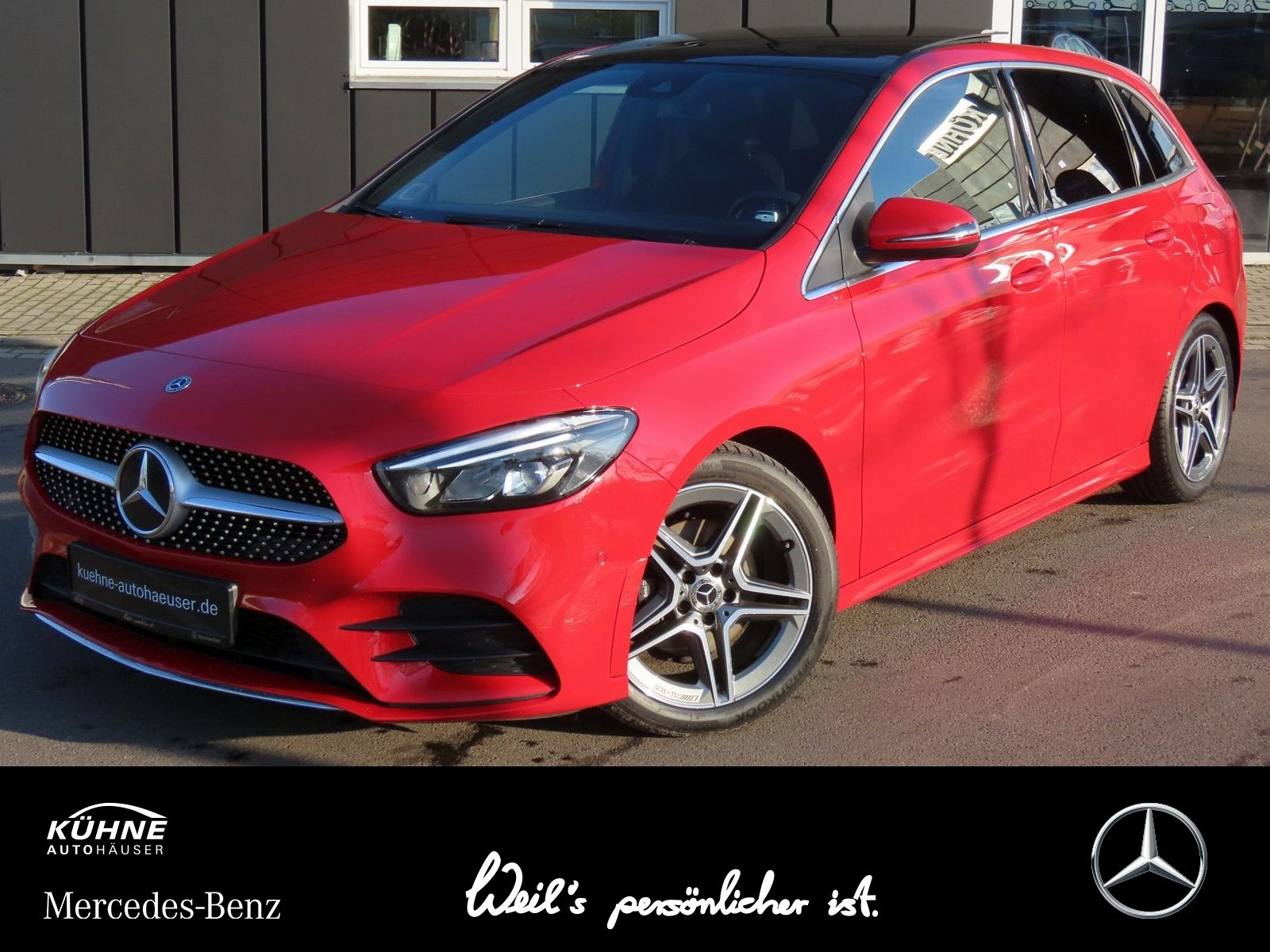 Mercedes-Benz B 200 d AMG Line 8G+Distronic+Pano+LED High+Navi, Jahr 2019, Diesel