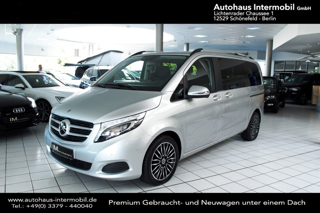 Mercedes-Benz V 250 EDITION kompakt*Burmester*Comand*LED*DAB*, Jahr 2019, Diesel