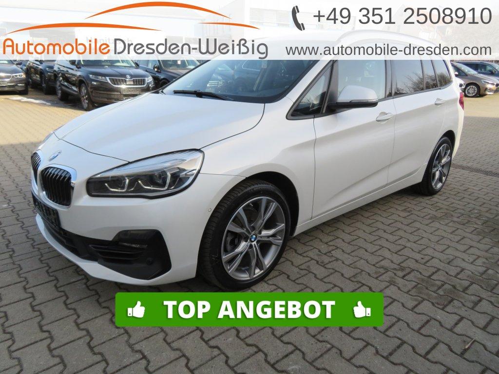 BMW 216 Gran Tourer i Sport Line*Navi*HiFi*LED*18, Jahr 2019, Benzin