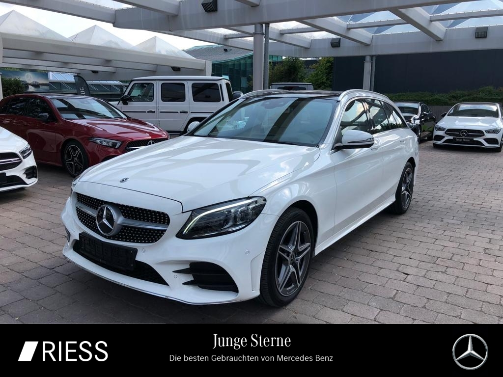 Mercedes-Benz C 400 4M AMG Sport Com Pano Distr Wide Head Kame, Jahr 2020, Benzin