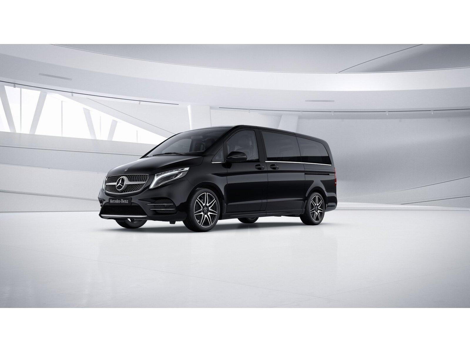 Mercedes-Benz V 250 d 4M AV. ED. Lang/Burm./AHK/Comand/Stdhz, Jahr 2017, Diesel