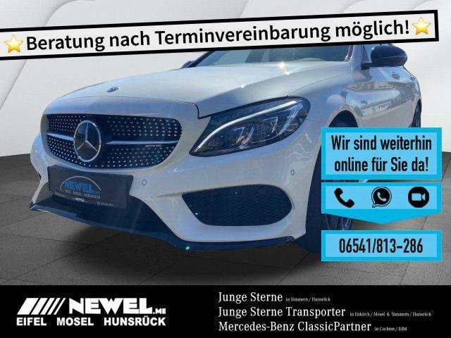Mercedes-Benz C 43 AMG 4M T STHZG*PANO*DIST*PERF.ABGAS*LED*CAM, Jahr 2017, Benzin